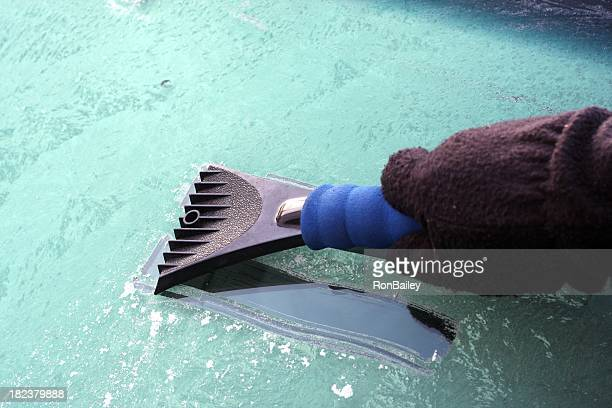 scraping the windshield - windshield stock pictures, royalty-free photos & images