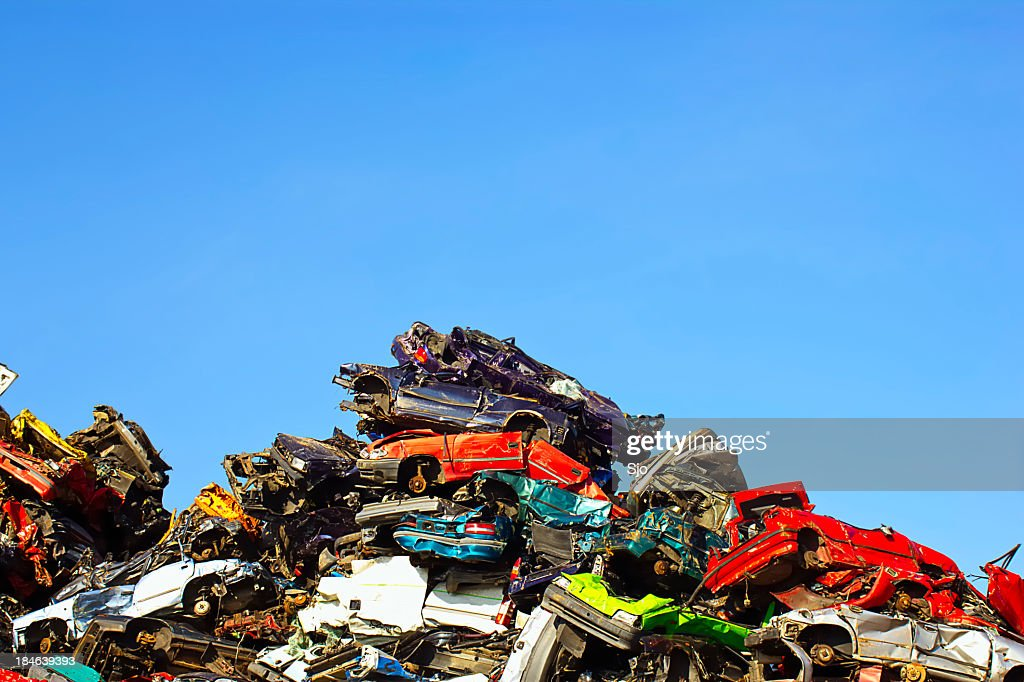 Scrapyard : Stock Photo