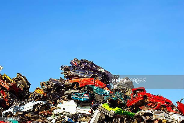 scrapyard - junkyard stock photos and pictures