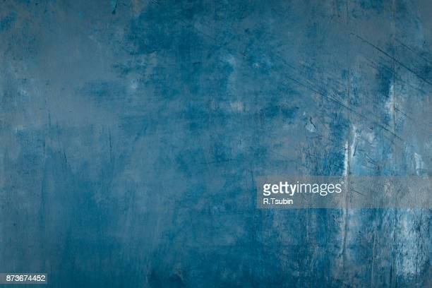 scratch grunge background. - classic blue stock photos and pictures