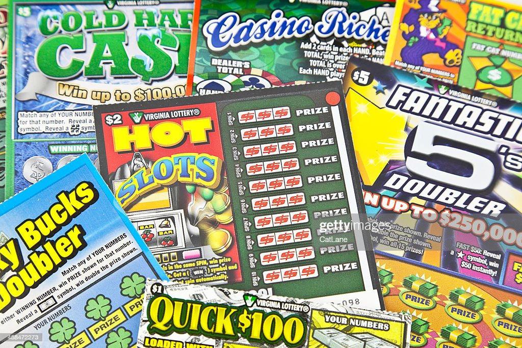 Scratch Off Lottery Tickets Stock Photo - Getty Images