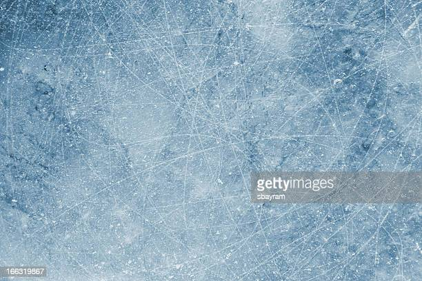 scratched ice background - ice hockey stock pictures, royalty-free photos & images