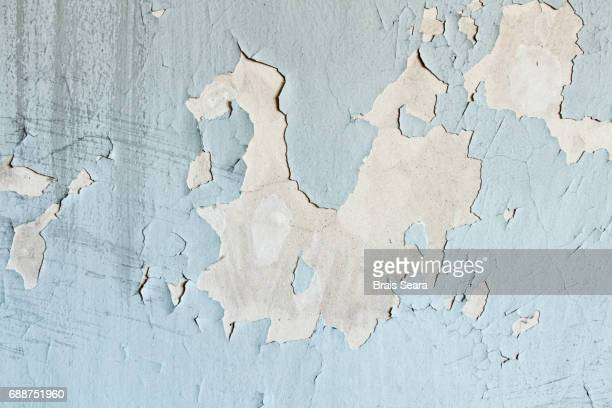 Scratched wall