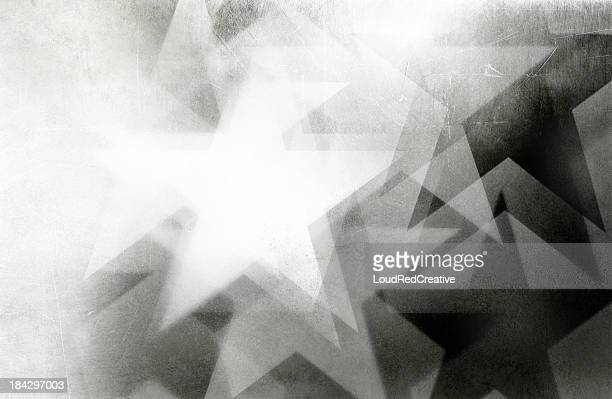 scratchy star background - patriotic stock pictures, royalty-free photos & images