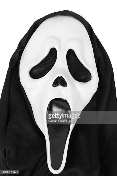 scream mask - gillen stockfoto's en -beelden