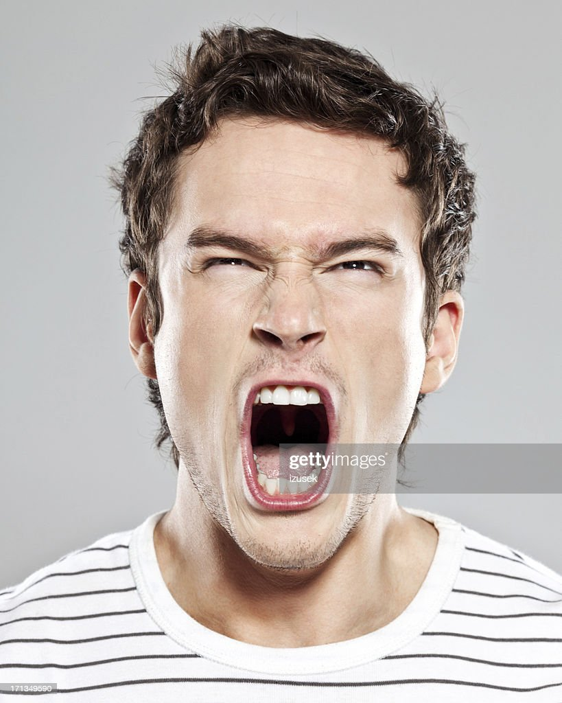 Scream : Stockfoto