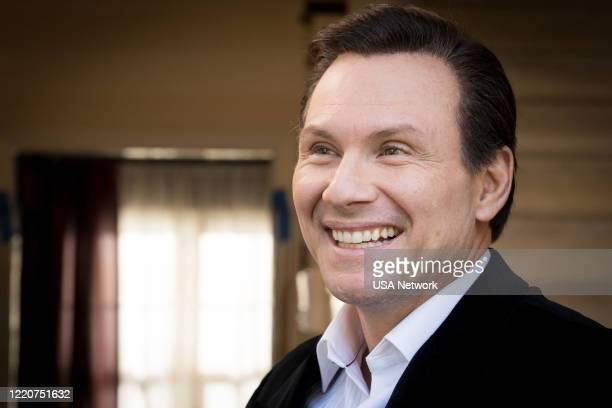 "Scream Therapy"" Episode 205 -- Pictured: Christian Slater as Dan Broderick --"