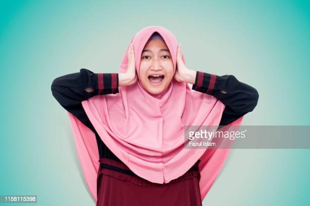 screaming - alleen tieners stockfoto's en -beelden