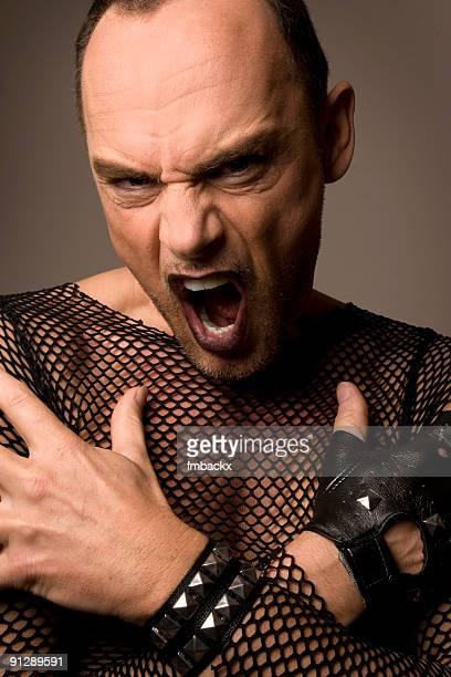 schreien - fetisch stock-fotos und bilder