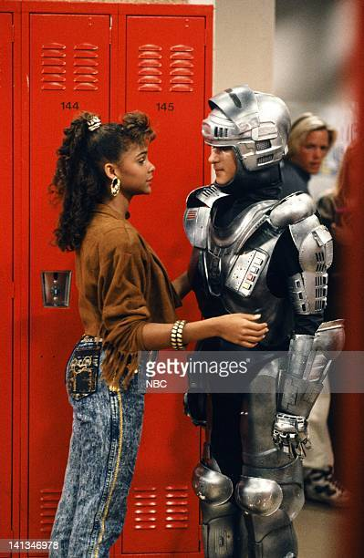 BELL Screech's Birthday Episode 19 Air Date Pictured Lark Voorhies as Lisa Turtle Dustin Diamond as Screech Powers Photo by Alice S Hall/NBCU Photo...