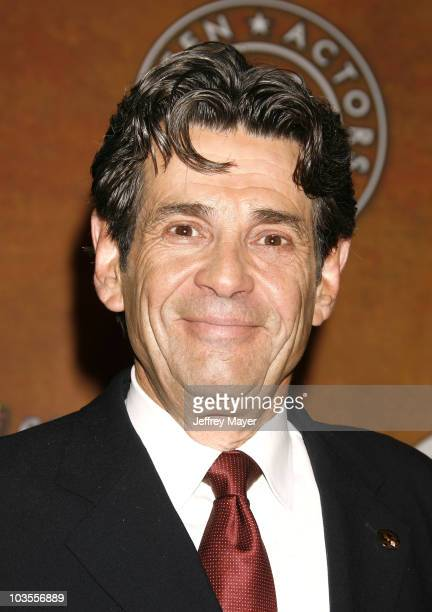 Screen Actors Guild President Alan Rosenberg attends the 14th Annual Screen Actors Guild Awards Nominations at the Pacific Design Center's...