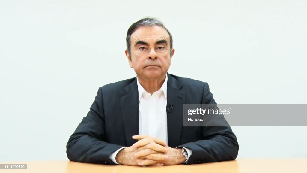 Carlos Ghosn Arrested For Financial Misconduct : News Photo