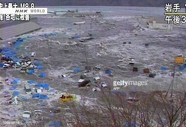 CREDIT AFP PHOTO / HO / NHK NO MARKETING NO ADVERTISING CAMPAIGNS DISTRIBUTED AS A SERVICE TO CLIENTSA screen grab taken from news footage by...