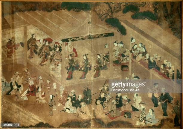 Kabuki 17th century Japanese Art Musee Guimet Japan