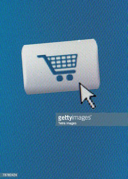 Screen shot of Add to cart button for online shopping