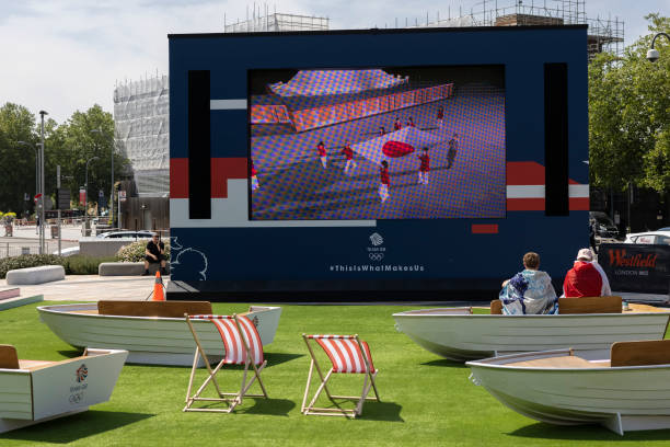 GBR: Olympic Fanzone Launches In Westfield London