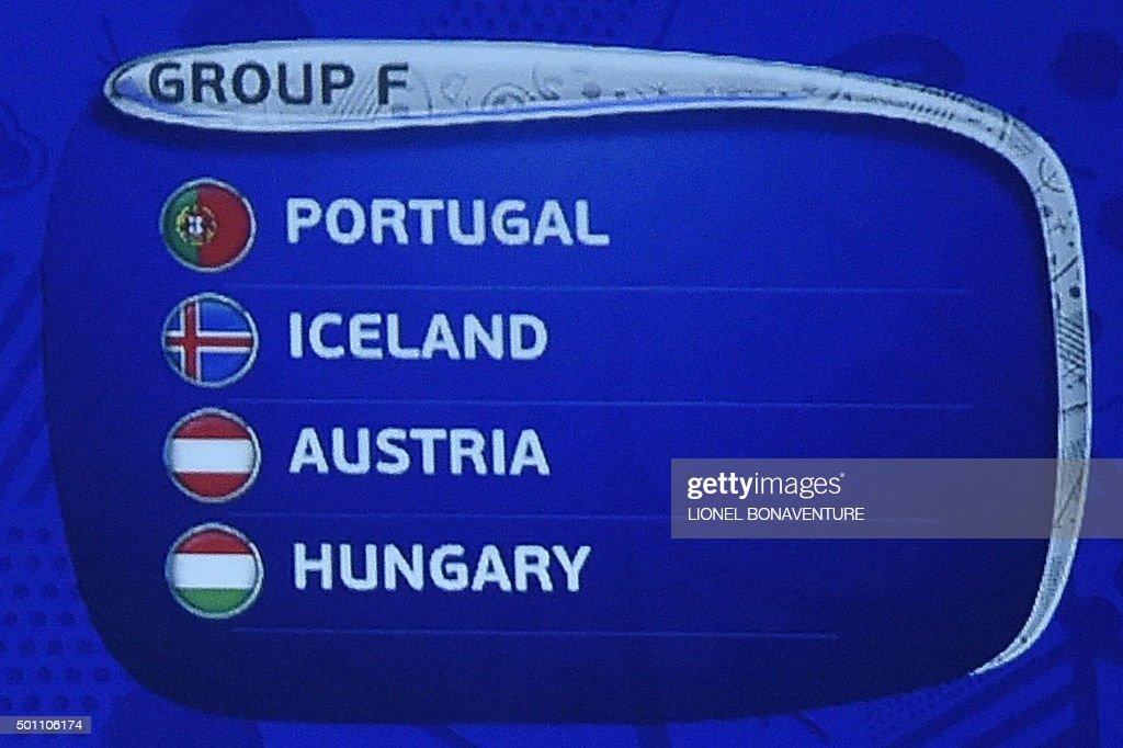 FBL-EURO-2016-DRAW : News Photo