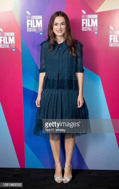 'Screen Talks' with Keira Knightley at the 62nd BFI London Film Festival on October 12 2018 in London England