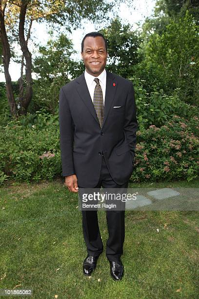Screen writer Geoffrey Fletcher 5th Annual Made In NY Awards at Gracie Mansion on June 7 2010 in New York City