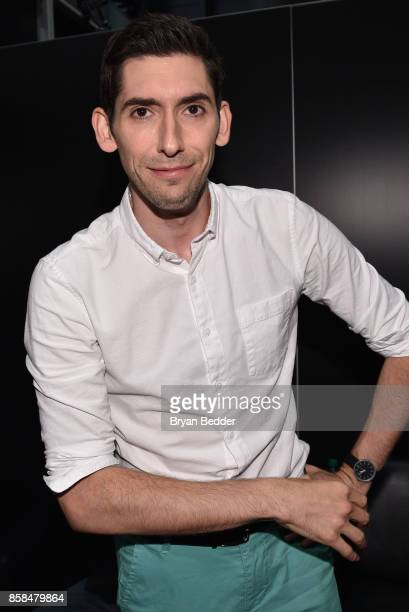 Screen writer Max Landis attends the FANDOM Fest during New York Comic Con on October 6, 2017 in New York City.
