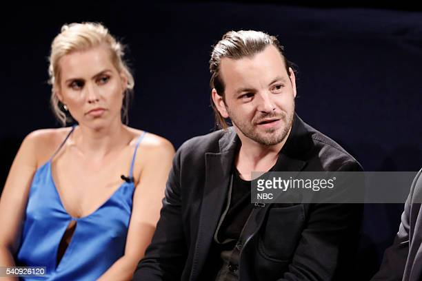 AQUARIUS Screening and Panel Discussion at the Paley Center June 16 2016 Pictured Claire Holt Gethin Anthony