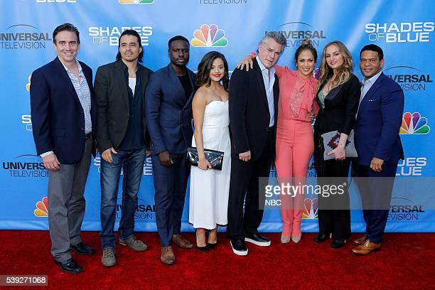 BLUE Screening and Panel Discussion at the Television Academy June 9 2016 Pictured Jack Orman Showrunner Antonio Jaramillo Dayo Okeniyi Sarah Jeffery...