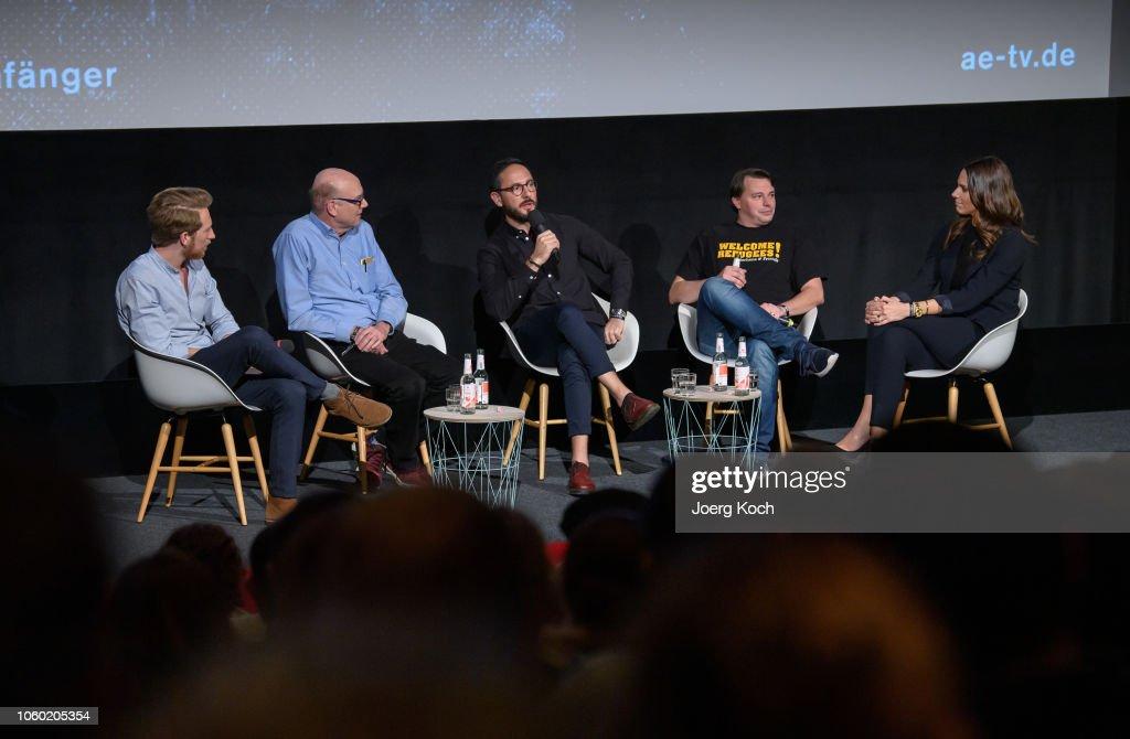 World Premiere Of A&E Documentary 'Total Control - Im Bann der Seelenfaenger' In Munich : News Photo