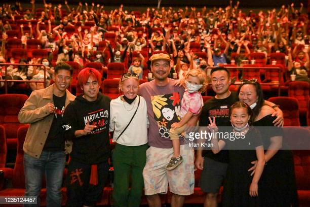 Screening of screening of Shang-Chi and the Legend of the Ten Rings at AMC theater on Saturday, Sept. 4, 2021 in Monterey Park, CA.