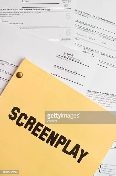 Drehbuch Copyright-Registrierung