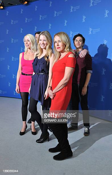 Screenplay writer and actress Lorelei Lee actor Peter Kepler US actress and model Ashley Hinshaw producer and actress Elana Krausz and actor Vincent...