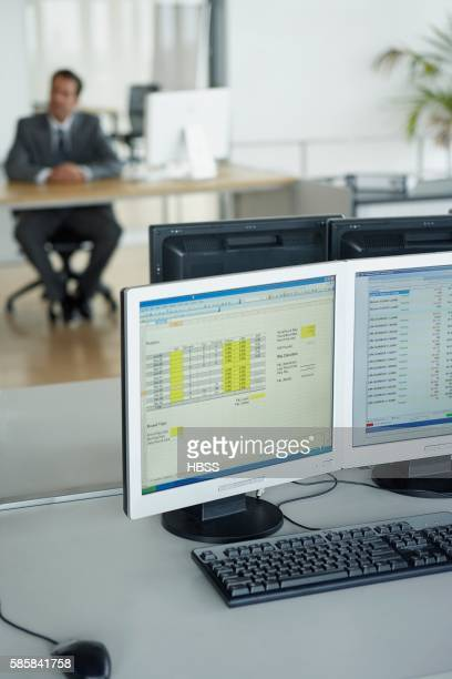 Screenshot of spreadshot on a computer