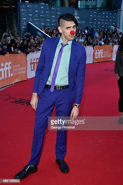 "Screenwrite Max Landis attends the ""Mr. Right"" premiere during the Toronto International Film Festival at Roy Thomson Hall on September 19, 2015 in..."