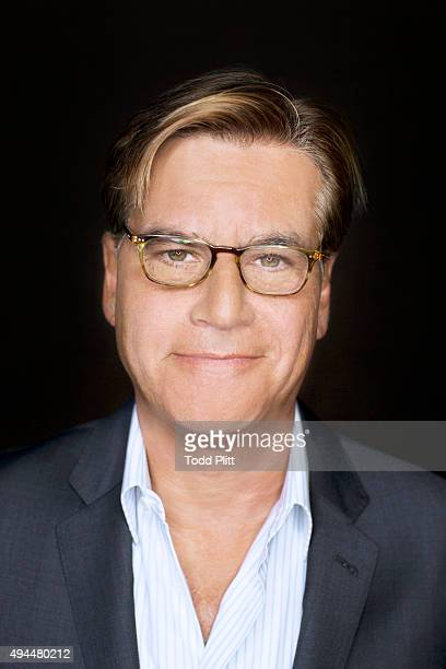 Screenwriter Aaron Sorkin is photographed for USA Today on October 4 2015 in New York City