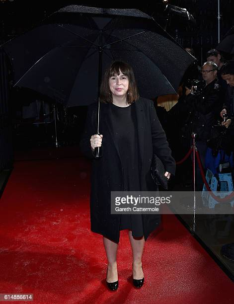 Screenwriter Abi Morgan attends the BFI London Film Festival awards during the 60th BFI London Film Festival at Banqueting House on October 15 2016...