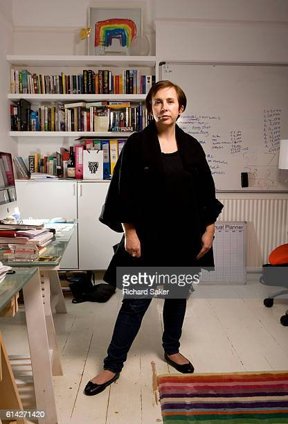Screenwriter Abi Morgan is photographed for the Observer on October 13 2011 in London England