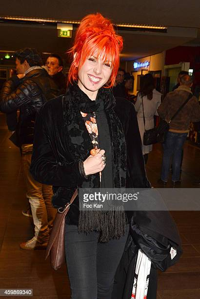 Screenwriter /actress Alma S Grey attends the 'Cheries Cheris' - LGBT 20th Festival - : Closing Ceremony At MK2 Bibliotheque on December 2, 2014 in...