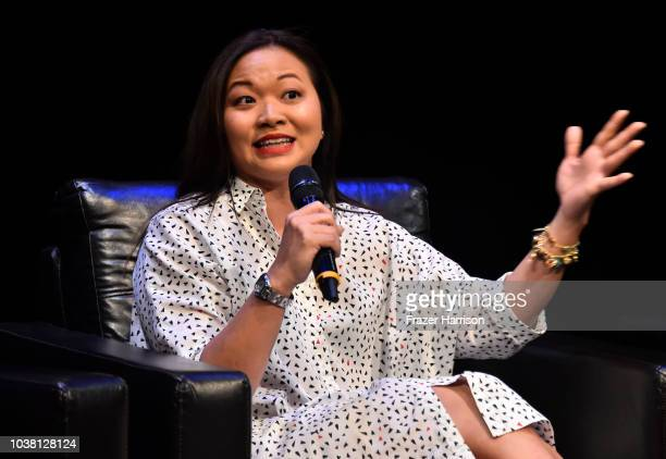 Screenwriter Adele Lim attends the 2018 LA Film Festival Coffee Talks Screenwriters at Wallis Annenberg Center for the Performing Arts on September...