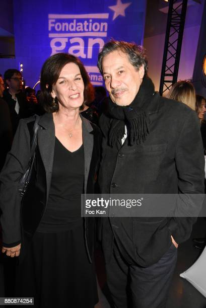 Screenwriter Agnes de Sacy and actor/director Mostefa Djadjam attend 'Fondation Gan Pour Le Cinema 2017' 30th Anniversary Award Ceremony At La...