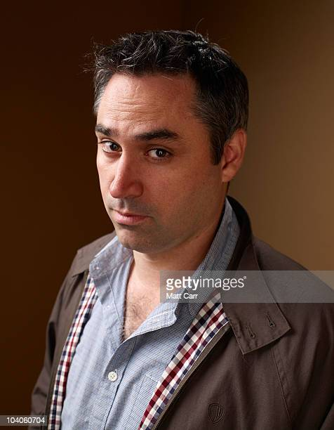 Screenwriter Alex Garland from Never Let Me Go poses for a portrait during the 2010 Toronto International Film Festival in Guess Portrait Studio at...