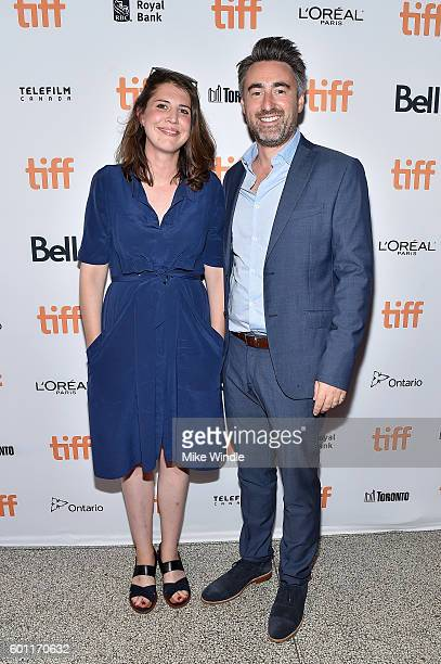 R Screenwriter Alice Birch and Director William Oldroyd attend the Lady Macbeth premiere during the 2016 Toronto International Film Festival at...