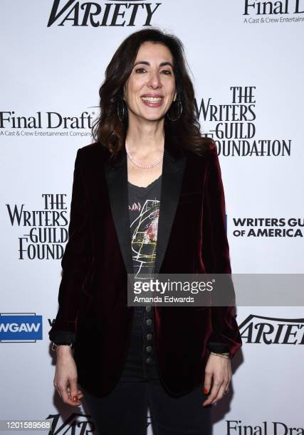 Screenwriter Aline Brosh McKenna attends the Writers Guild Of America West's Beyond Words 2020 event at the Writers Guild Theater on January 23, 2020...