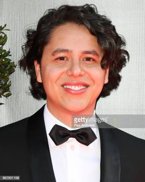 Screenwriter Alonso Ramirez Ramos attends the 45th Annual Daytime Creative Arts Emmy Awards at the Pasadena Civic Auditorium on April 27 2018 in...