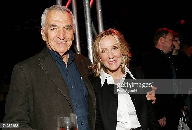 Screenwriter Alvin Sargent and producer Laura Ziskin attend the SpiderMan 3 premiere after party at Kaufman Astoria Studios during the 2007 Tribeca...