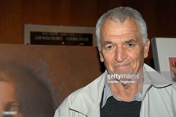 Screenwriter Alvin Sargent attends the Great To Be Nominated screening series presentation of Julia at the Academy of Motion Picture Arts and...