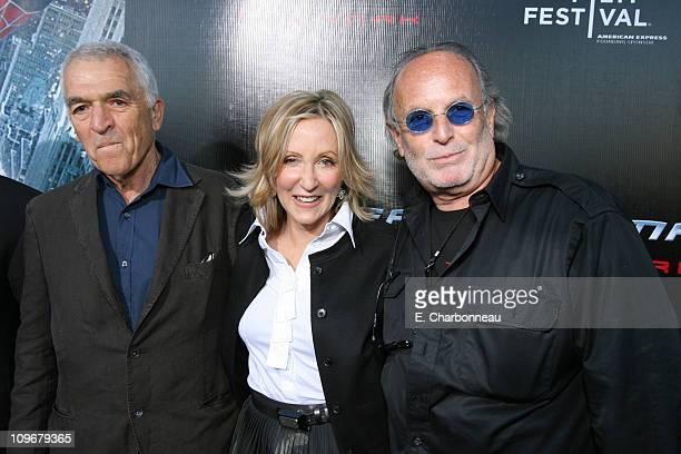 Screenwriter Alvin Sargent Producer Laura Ziskin and Producer Avi Arad