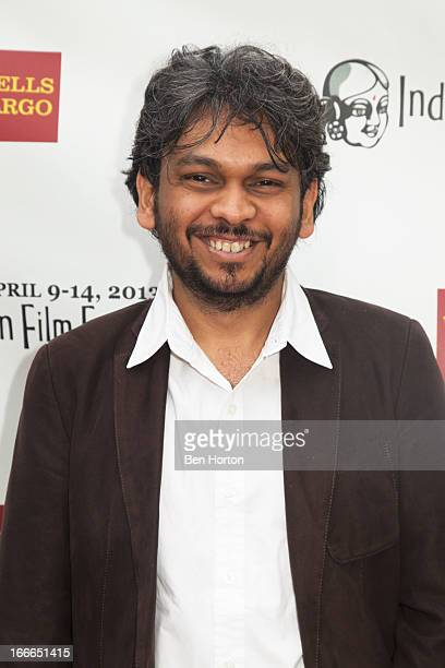 Screenwriter Anand Gandhi attends the 11th Annual Indian Film Festival of Los Angeles closing night gala premiere of 'Midnight's Children' at...