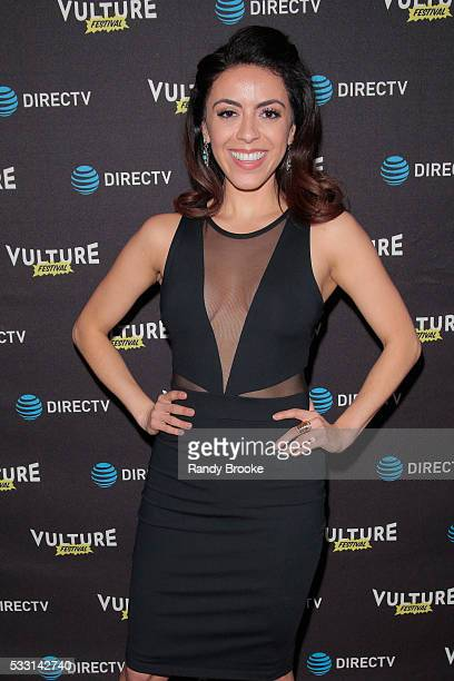 Screenwriter and Actress Grace Parra attends the 2016 Vulture Festival Kick Off Party at The Top of The Standard at The Standard High Line on May 20...