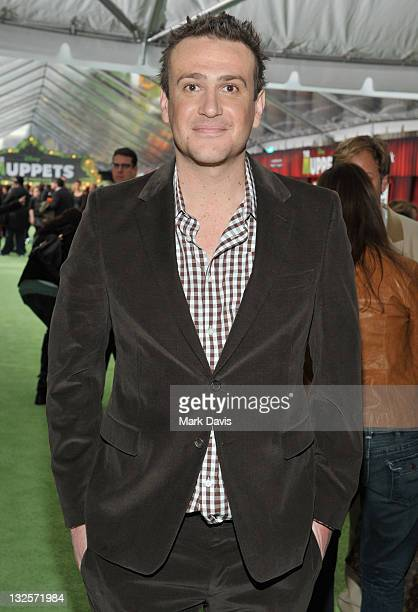 Screenwriter and Executive Producer Jason Segel arrives at the premiere of Walt Disney Pictures' The Muppets held at the El Capitan Theatre on...