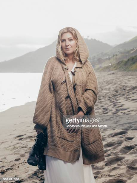 Screenwriter and film director Amanda Sthers is photographed for Paris Match on April 3 2017 in Los Angeles California