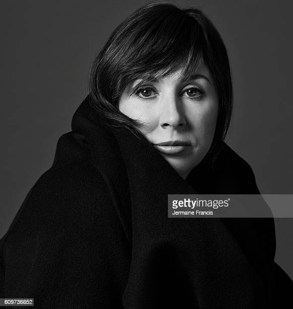 Screenwriter and playwright Abi Morgan is photographed for Porter magazine on December 9 2013 in London England